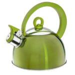 Czajnik Nierdzewny 2l zielony- 3752