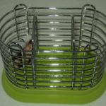 Ociekacz na sztućce zielony /0005