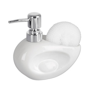 Dozownik z gąbką IBIS biały /530750