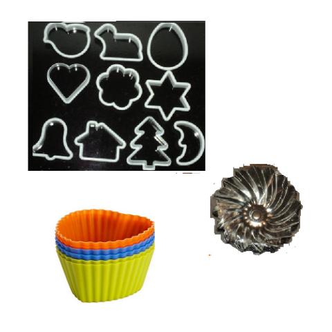 Foremki i wykrawacze do ciastek