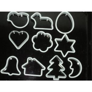Foremki do pierników ciastek plastykowe