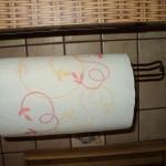 Uchwyt wieszak na ręcznik papierowy -622
