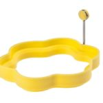Obręcz silikonowa do jajek sadzonych KWIATEK art 4233 żół