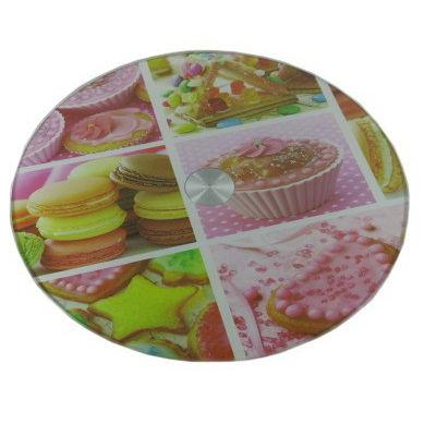 Patera do ciast i tortów obrotowa 30cm