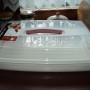 Pojemnik na ciasto pLaski kremowy/0415