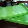 Pojemnik na ciasto plaski zielony 2tacy