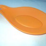 Silikonowa podstawka pod łyżkę pomarańczowa