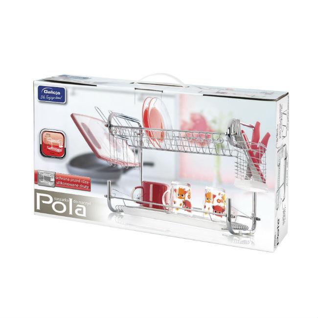 Suszarka do naczyń POLA art 6363 biała w opakowaniu