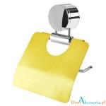 Uchwyt na papier toal RAINBOW art 5270 żółty 500x500