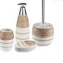 Ceramiczny zestaw łazienkowy Vulcano krem