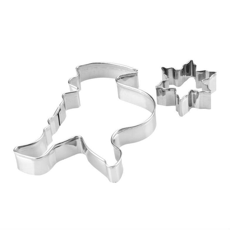Wykrawaczki metalowe 2szt art 6588 mikołaj