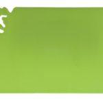 Deska do krojenia Slim zielona 30x18,5cm