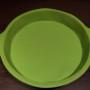 forma do pieczenia silkon. 25cm zielona
