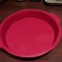forma silikonowa 25cm czerwona