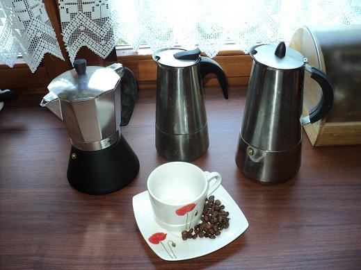 jaka kawiarka -stalowa czy aluminiowa