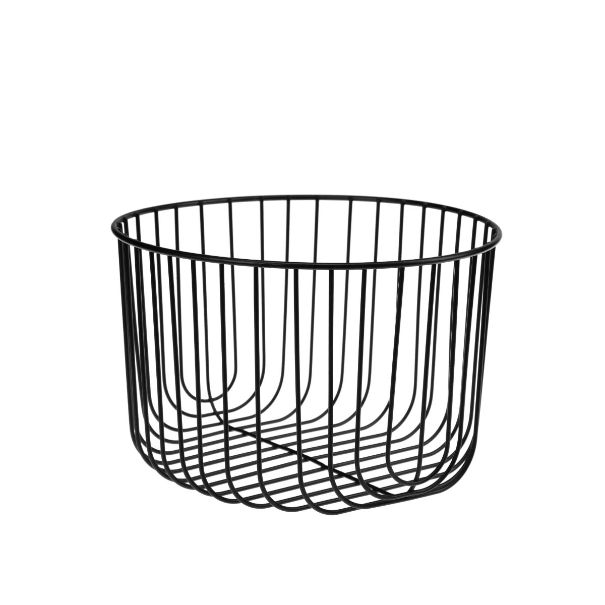 Koszyk Metalowy Okrągły Głęboki Faro 22383
