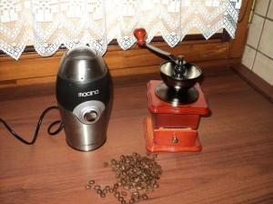 młynek do kawy-ręczny czy elektryczny