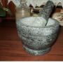 Moździerz naturalny granit 14cm /3360-3
