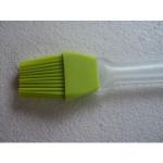 Pędzelek silikonowy zielony