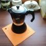 podkładka silikonowa pomarańczowa-kawiarka