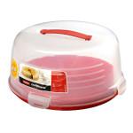 pojemnik na tort  czerwony 519x519