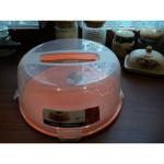 pojemnik na tort pomaranczowy 519x519