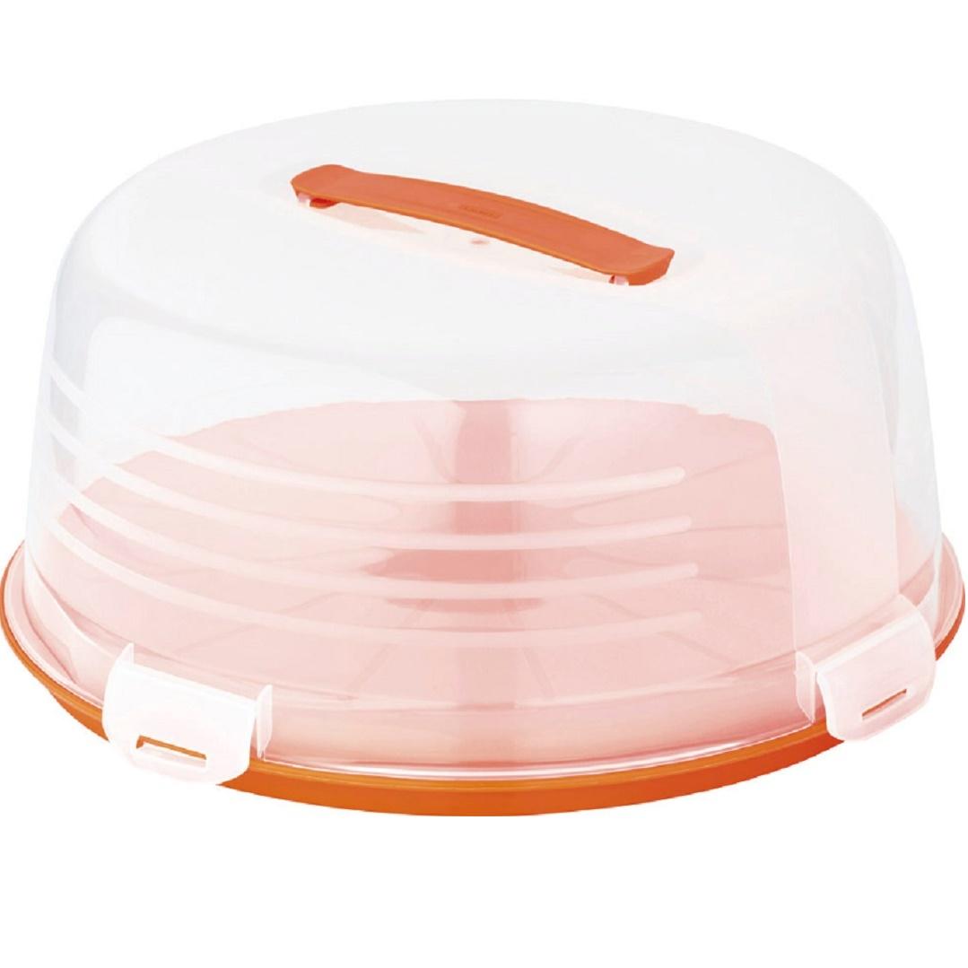 Pojemnik na tort pomaranczowy