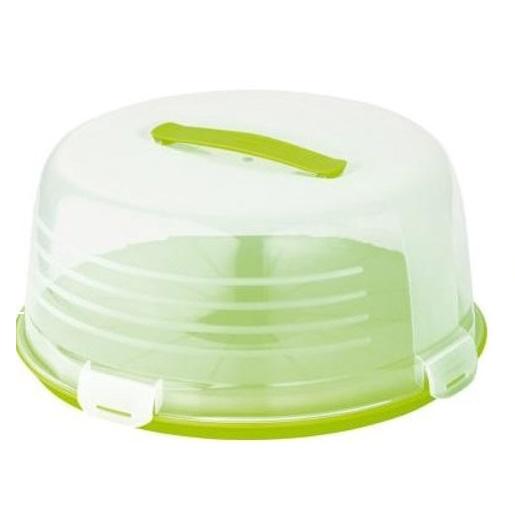 Pojemnik na tort zielony