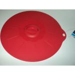 Silikonowa pokrywka 20cm czerwona /4222
