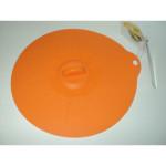Silikonowa pokrywka 20cm pomarańczowa /4222