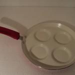 Patelnia na jajka ceramiczna WB czer.