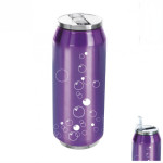 Kubek termiczny puszka Bańki fiolet