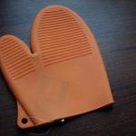 Rękawica silikonowa pomarańczowa