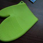 Rękawica silikonowa zielona