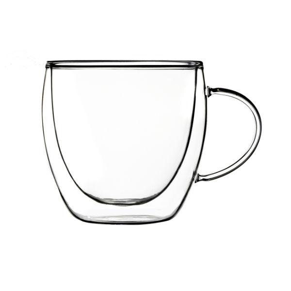 Szklanka kubek z uchwytem Duo 250ml 2szt