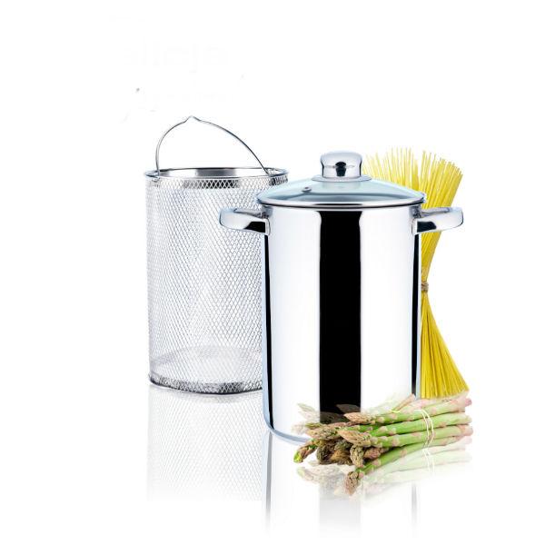 Garnek do gotowania szparagów