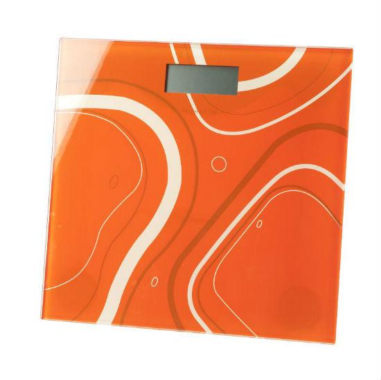 Waga elektroniczna łazienkowa pomarańcz/5201