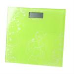 Waga elektroniczna łazienkowa zielona /5079