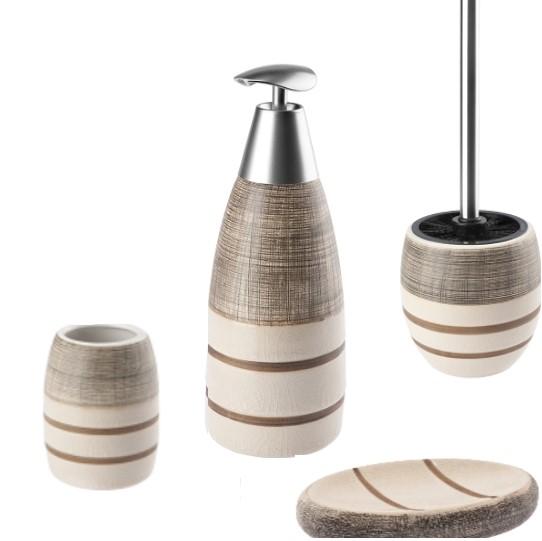 Ceramiczny zestaw łazienkowy Vulcano Nila