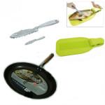 zestaw do oprawiania i smażenia ryb