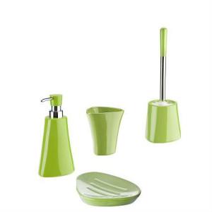 Ceramiczny zestaw łazienkowy SILVIA zielony