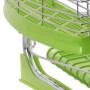 Silikonowana suszarka do naczyń zielona - dół silikonowany